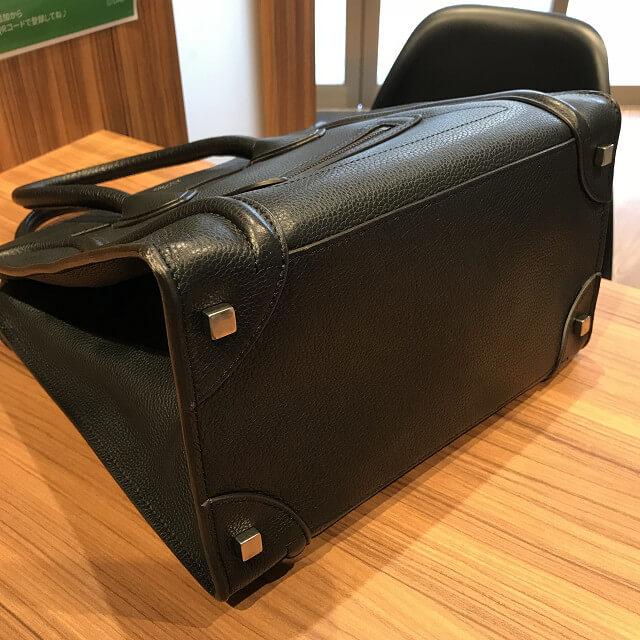 上本町のお客様からセリーヌのラゲージバッグ【ミニショッパー】を買取_02