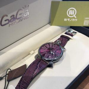 鶴橋のお客様からガガミラノの腕時計【マヌアーレ】を買取