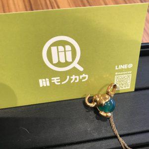 鶴橋のお客様からK18金のネックレスを買取