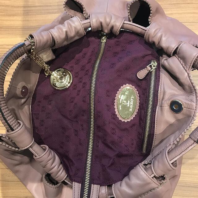 天王寺のお客様からロエベのバッグ【ナッパアイレ】を買取_02