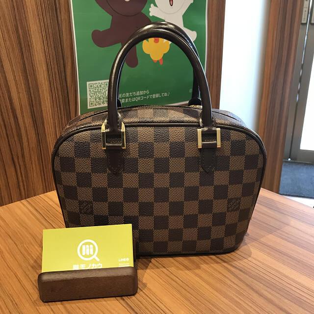 今里のお客様からヴィトンのバッグ【サリアミニ】を買取_01