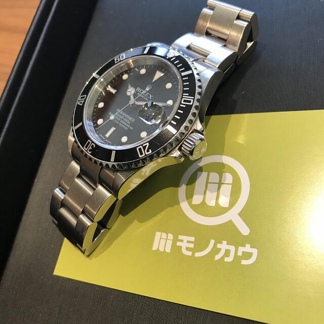 上本町のお客様からロレックスの腕時計【サブマリーナー】を買取_02