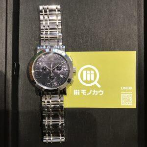 大日のお客様からバーバリーの腕時計を買取