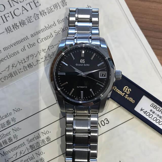 蒲田のお客様からグランドセイコーの腕時計を買取_03