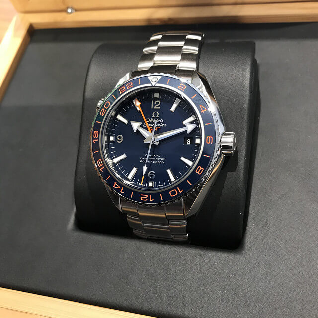 荻窪のお客様からオメガの腕時計【シーマスター】を買取_02