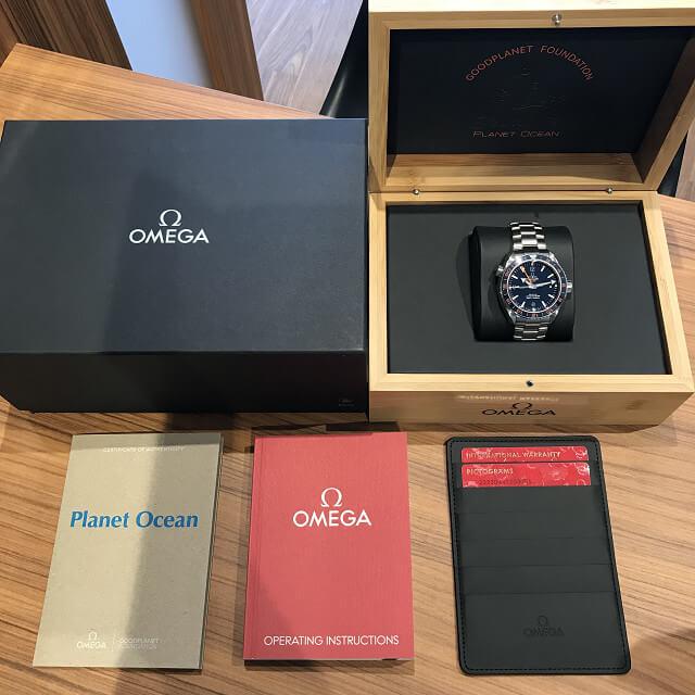 荻窪のお客様からオメガの腕時計【シーマスター】を買取_03