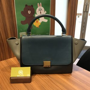 上本町のお客様からセリーヌのバッグ【トラペーズ】を買取