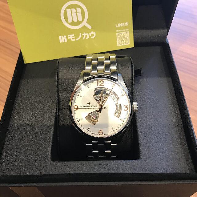 桃谷のお客様からハミルトンの腕時計【ジャズマスター】を買取_01