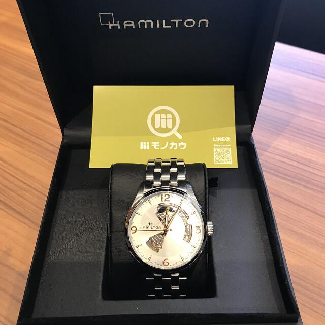 桃谷のお客様からハミルトンの腕時計【ジャズマスター】を買取_02