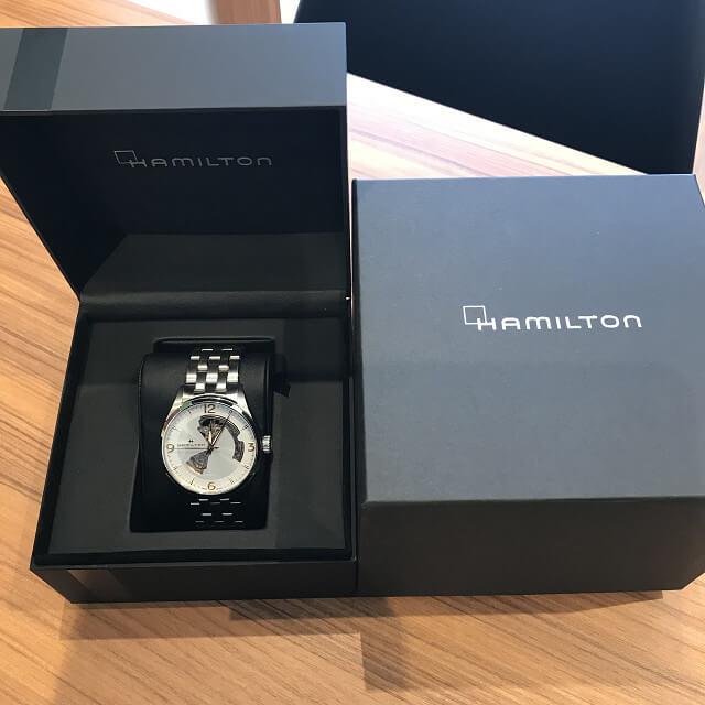 桃谷のお客様からハミルトンの腕時計【ジャズマスター】を買取_04