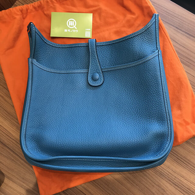 難波のお客様からエルメスのバッグ【エブリン2 PM】を買取_02