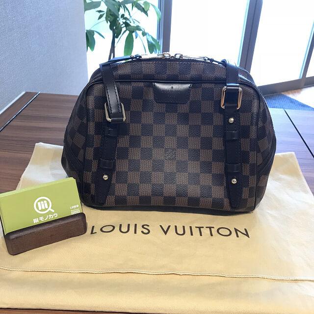 鹿児島のお客様からヴィトンのバッグ【リヴィントンPM】を買取_01