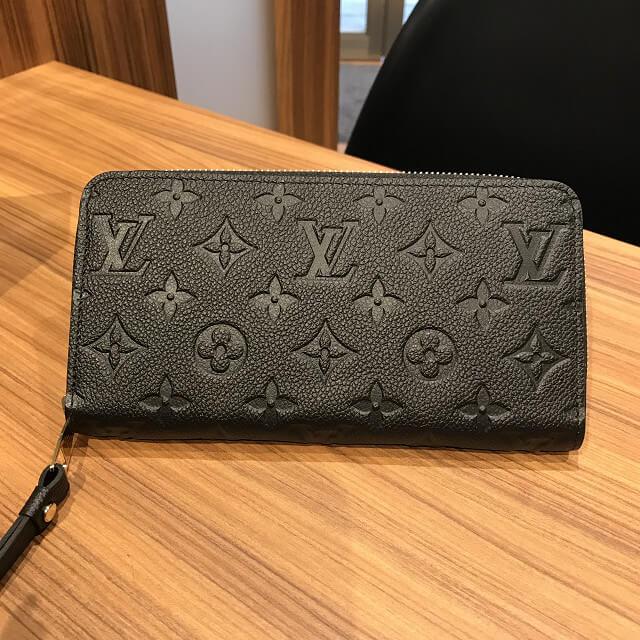 桃谷のお客様からヴィトンのアンプラントの長財布【ジッピーウォレット】を買取_02