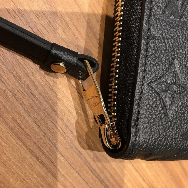桃谷のお客様からヴィトンのアンプラントの長財布【ジッピーウォレット】を買取_04