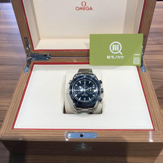 荻窪のお客様からオメガの腕時計【シーマスター プラネットオーシャン】を買取_02
