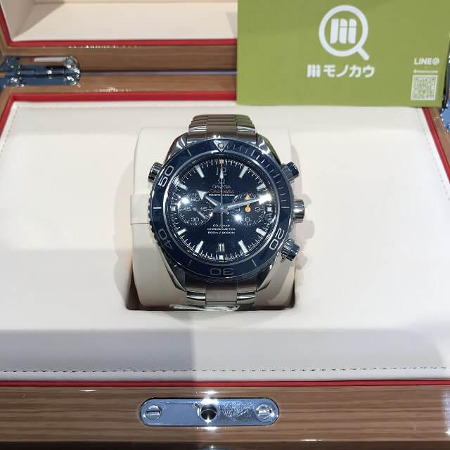 荻窪のお客様からオメガの腕時計【シーマスター プラネットオーシャン】を買取_01