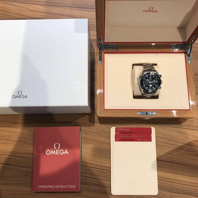荻窪のお客様からオメガの腕時計【シーマスター プラネットオーシャン】を買取_03