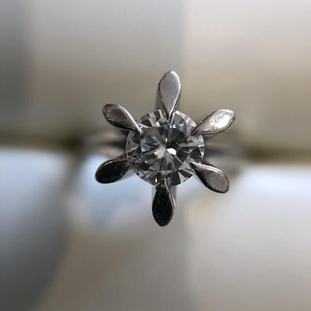 今里のお客様から【ダイヤの指輪】を買取_01