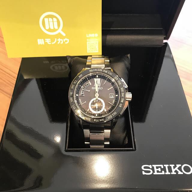群馬のお客様からセイコーの腕時計【ブライツ】を買取_01