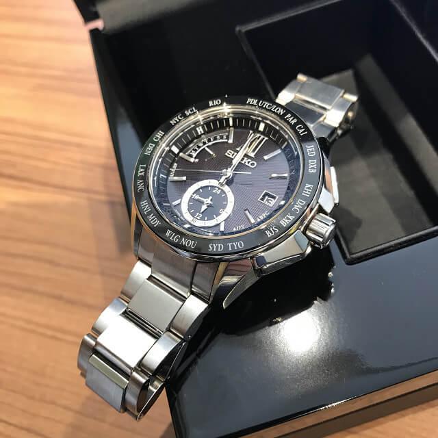 群馬のお客様からセイコーの腕時計【ブライツ】を買取_02