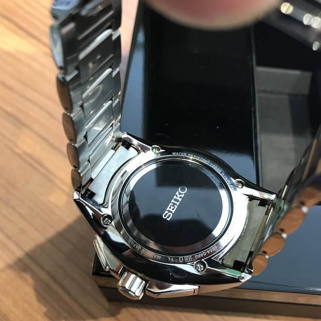 群馬のお客様からセイコーの腕時計【ブライツ】を買取_03