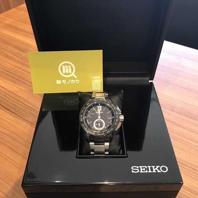群馬のお客様からセイコーの腕時計【ブライツ】を買取_04