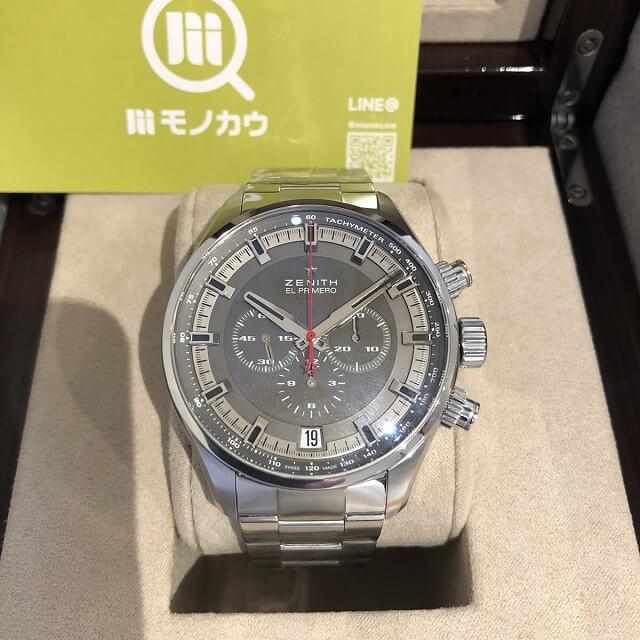 博多のお客様からゼニスの腕時計【クロノマスター】を買取_01