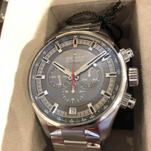 博多のお客様からゼニスの腕時計【クロノマスター】を買取_02