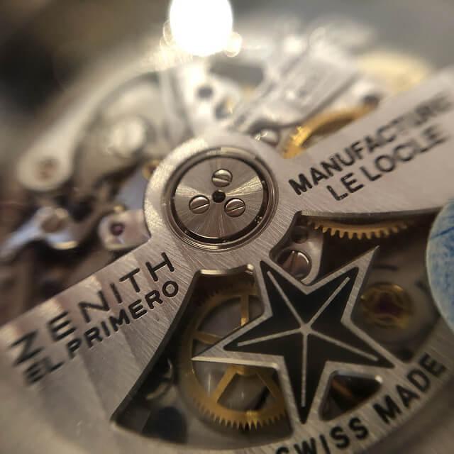 博多のお客様からゼニスの腕時計【クロノマスター】を買取_03