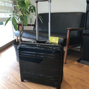 大阪市旭区のお客様からゼロハリバートンのキャリーケースを買取