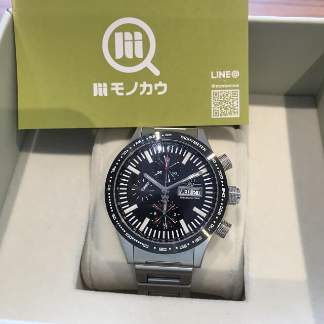 神栖のお客様からボールウォッチの腕時計【ストークマン ストームチェイサーⅡ】を買取_01