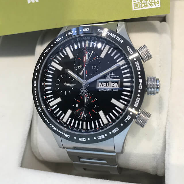 神栖のお客様からボールウォッチの腕時計【ストークマン ストームチェイサーⅡ】を買取_02