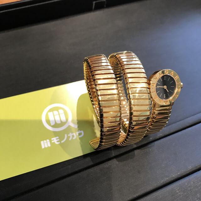 上本町のお客様からブルガリの腕時計【トゥボガス スネーク】を買取_01