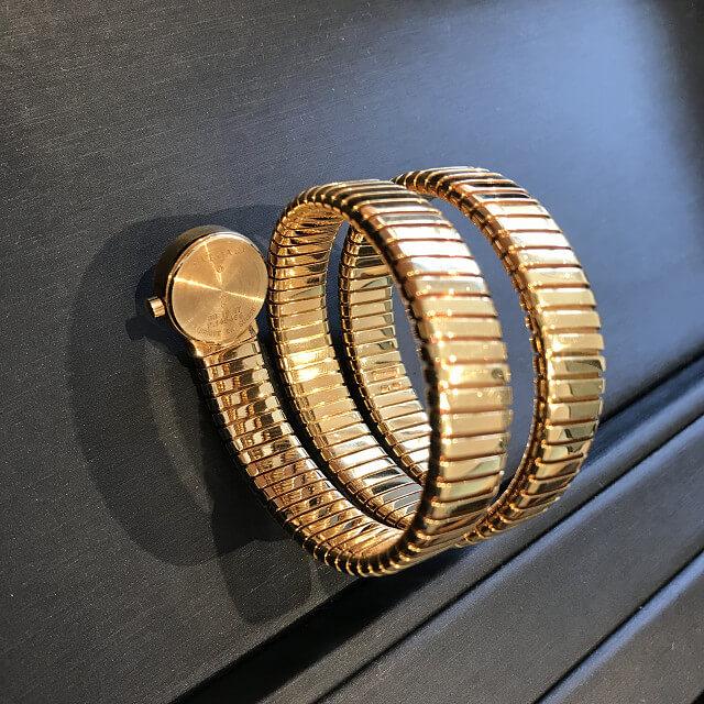 上本町のお客様からブルガリの腕時計【トゥボガス スネーク】を買取_02