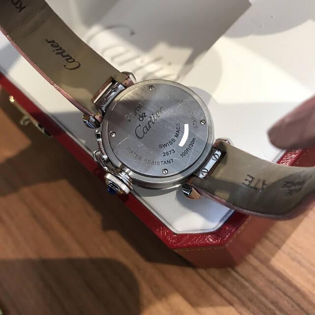 大阪市福島区のお客様からカルティエの腕時計【ミスパシャ】を買取_03