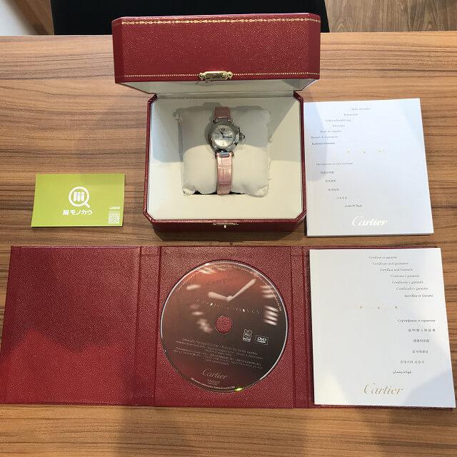 大阪市福島区のお客様からカルティエの腕時計【ミスパシャ】を買取_04