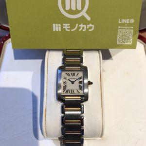 名張のお客様からカルティエの腕時計【タンクフランセーズ】を買取