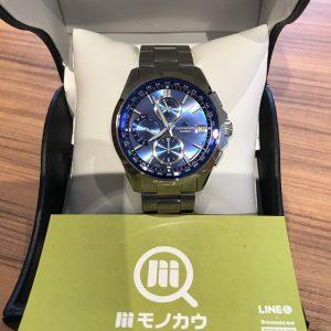森ノ宮のお客様からカシオの腕時計【オシアナス】を買取
