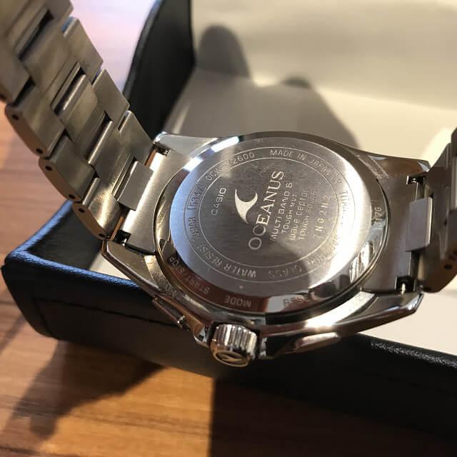 森ノ宮のお客様からカシオの腕時計【オシアナス】を買取_03