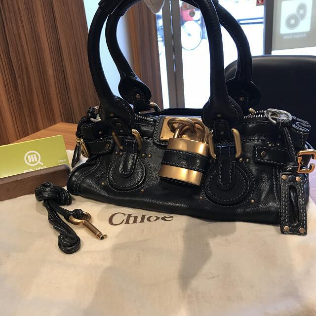 舞子のお客様からクロエのバッグ【パディントン】を買取_01