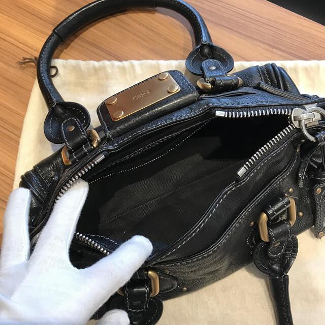 舞子のお客様からクロエのバッグ【パディントン】を買取_03