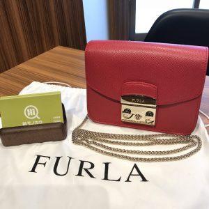 横浜市上大岡のお客様からフルラのバッグ【メトロポリス】を買取