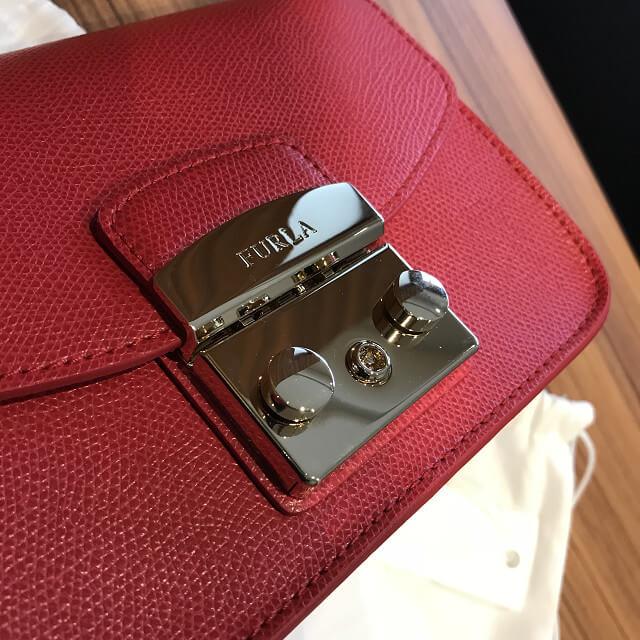 横浜市上大岡のお客様からフルラのバッグ【メトロポリス】を買取_03