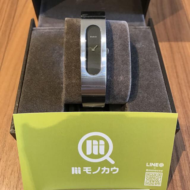 岐阜のお客様からグッチの腕時計【バングルウォッチ】を買取_01