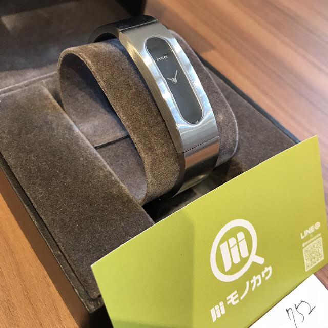 岐阜のお客様からグッチの腕時計【バングルウォッチ】を買取_02