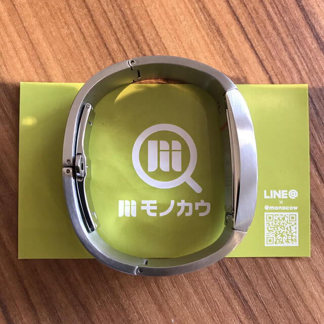 岐阜のお客様からグッチの腕時計【バングルウォッチ】を買取_03