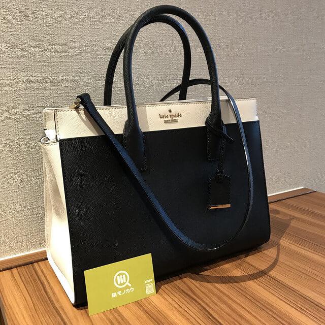 30679d635c7d 関目高殿のお客様からケイトスペードの2wayバッグを買取_01 ...