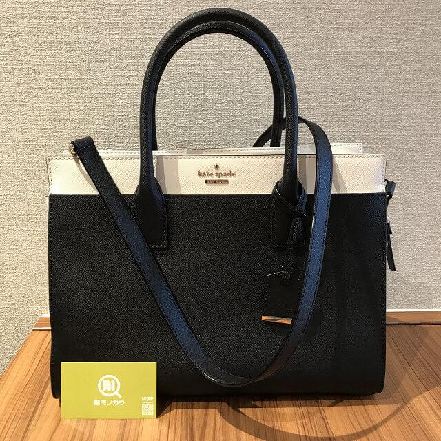 関目高殿のお客様からケイトスペードの2wayバッグを買取_02