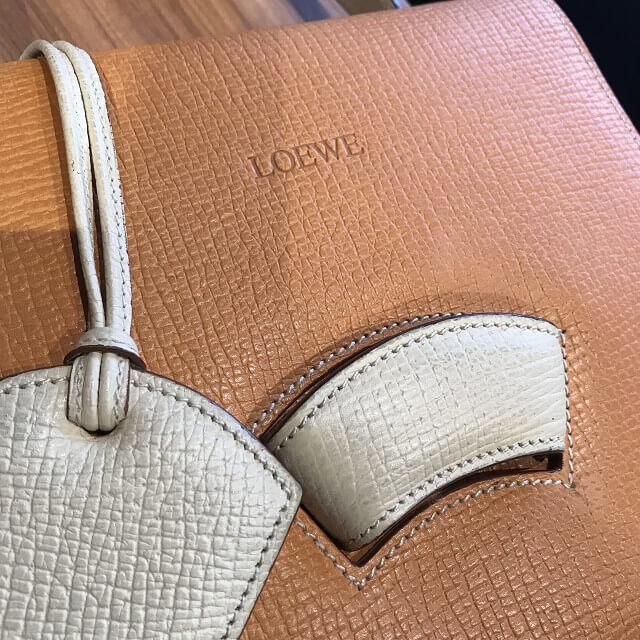 京都市山科区のお客様からロエベのバッグ【バルセロナ】を買取_03