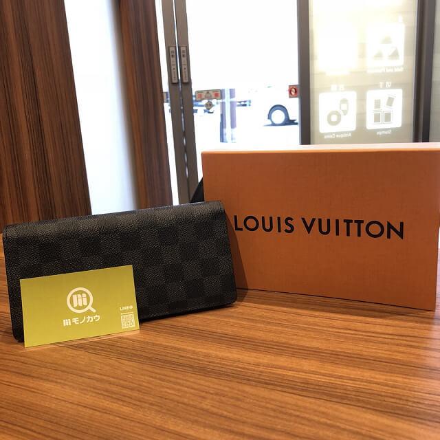 奈良のお客様からヴィトンの長財布【ポルトフォイユ・ブラザ】を買取_01